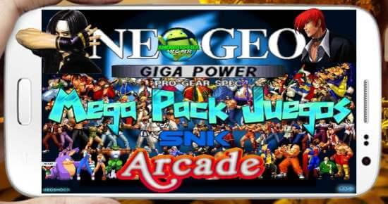 neogeo arcade juegos pack